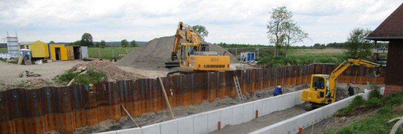 Neubau Messstrecke Pegel Satuelle